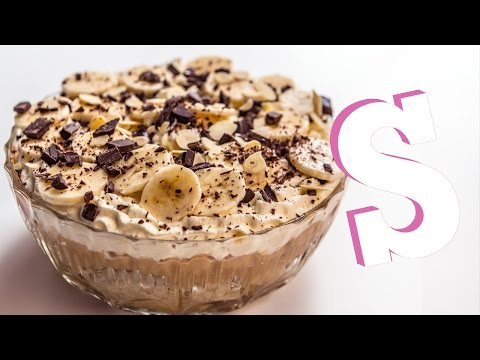 How To Make Banoffee Trifle Recipe - Homemade by SORTED
