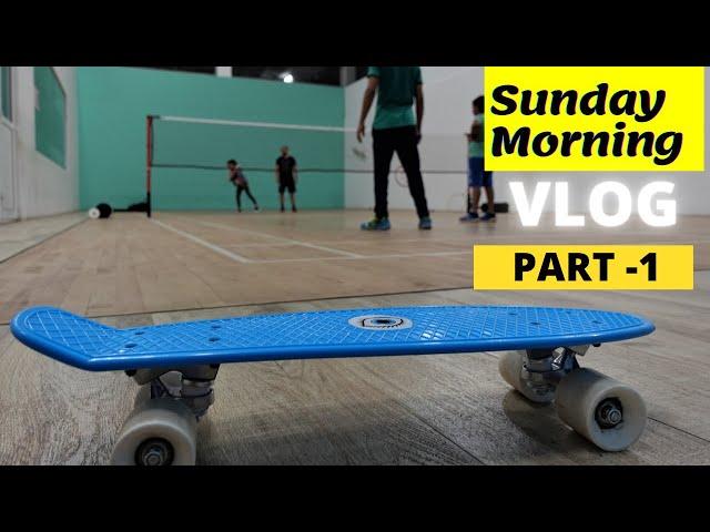 Sunday Morning Vlog part -1 / #learnwithpari #vlog