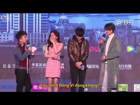 [Vietsub] Họp báo công chiếu phim Người Đàm Phán - Dương Mịch Yangmi - Hoàng Tử Thao