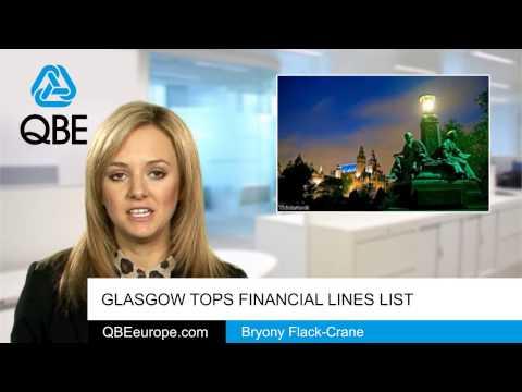 Glasgow tops financial lines list