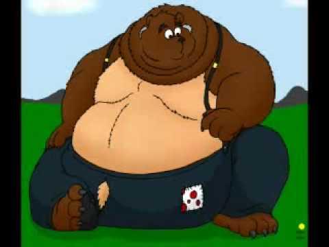 Obese chubby bears bbw