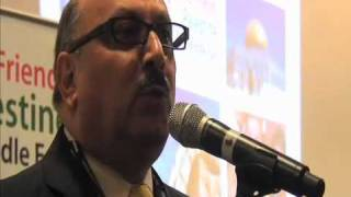 Palestinian Ambassador Manuel Hassassian at LFPME Reception