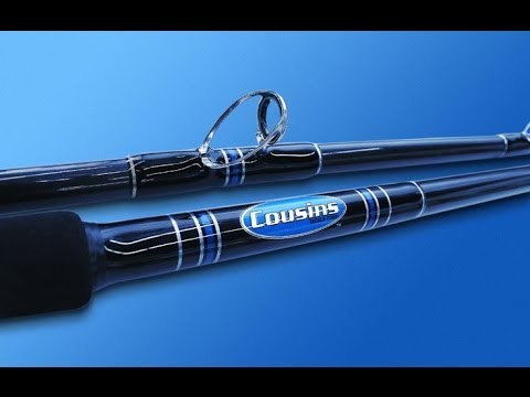 High Quality Cousins Rods Made In The USA; Factory Tour W/ Phil Friedman Outdoors