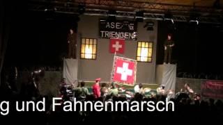 Bluetsuuger Triengen Startchlpaf 2013 Rhytmus und Fahnenmarsch