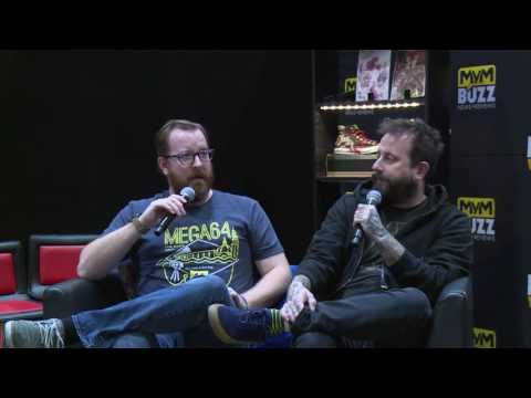 Rooster Teeth's Geoff Ramsey & Jack Pattillo INTERVIEW @ MCM London Comic Con