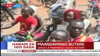 Maandamano Butere: Wakaazi walalamikia utovu wa usalama