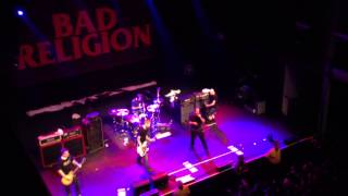 BAD RELIGION - Sorrow (Live in NYC 03-26-2013)