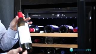 50 Bottle Vintec Wine Storage Cabinet V40sgebk Reviewed By Expert - Appliances Online