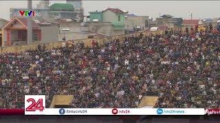 Sân Thiên Trường chật kín khán giả trong ngày trở lại V League của Nam Định - Tin Tức VTV24