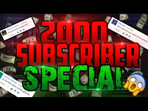 2,000 SUBSCRIBER SPECIAL!! 🎈🎉 QnA W/ Ya Boy!! Thank You Guys So Much!! 🔥It Stays Lit!🔥