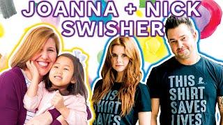 Nick & JoAnna Garcia Swisher Learn All About Maelin-Kate · Take 5 Together