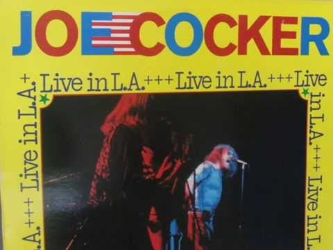 Live in L A - Joe in 1972 with The Chris Stainton Band - Side 1