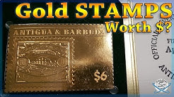 Are 24k Gold Stamps Valuable?
