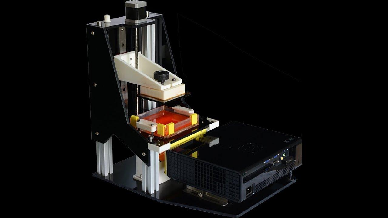 Gyan DLP 3D Printer  YouTube