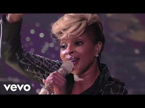 Mary J Blige  Family Affair  on Letterman