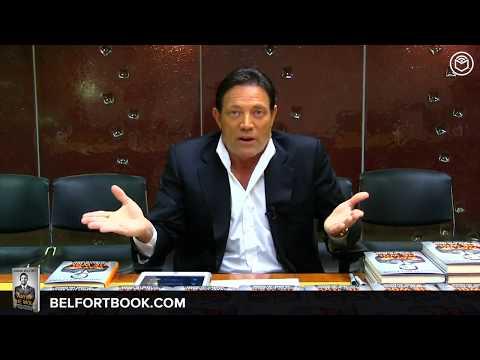 "Jordan Belfort Book Signing & Interview | ""Way of the Wolf"""