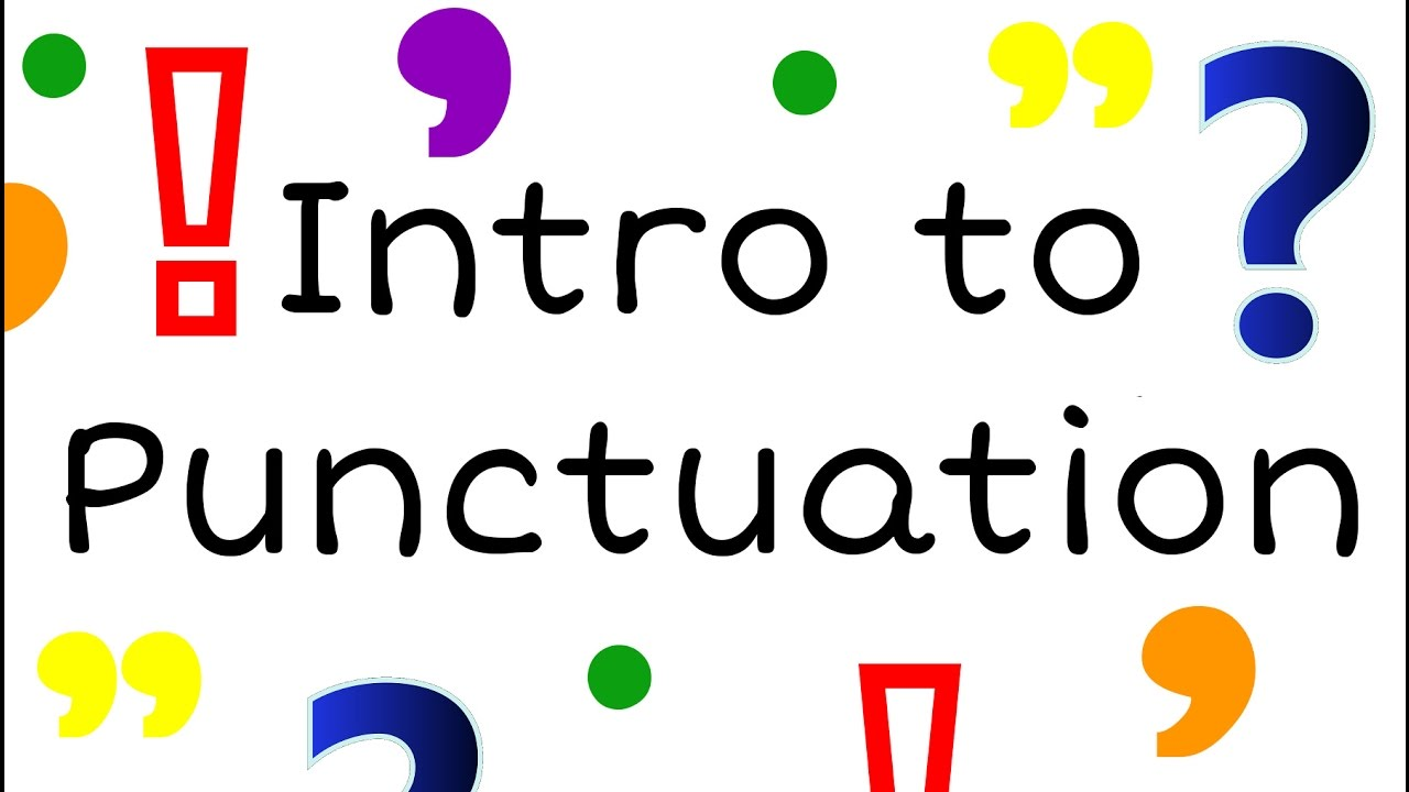 small resolution of Intro to Punctuation for Kids: English Grammar for Children - FreeSchool -  YouTube