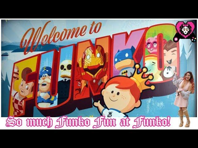 So Much Funko Fun! | A Random Vlog at Funko Pop!