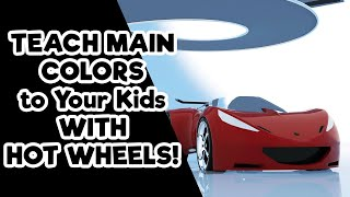 Learn Colors with Cars - Hot Wheel Super Sport Cars - Baby Learning Videos