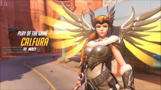 Overwatch - Epic Mercy Resurrection (Play of the Game)
