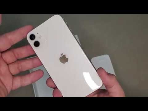 iPhone 11 128GB White Unboxing Hands on