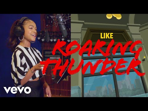 """Roaring Thunder (From """"Marvel Rising: Playing with Fire""""/Official Lyric Video)"""