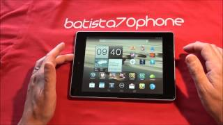 video Recensione Acer Iconia Tab A1-810 da batista70phone