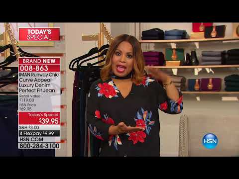 HSN | IMAN Global Chic Fashions 08.26.2017 - 05 PM