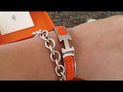 Hermes Clic Clac H Bracelet - YouTube f41414956aa