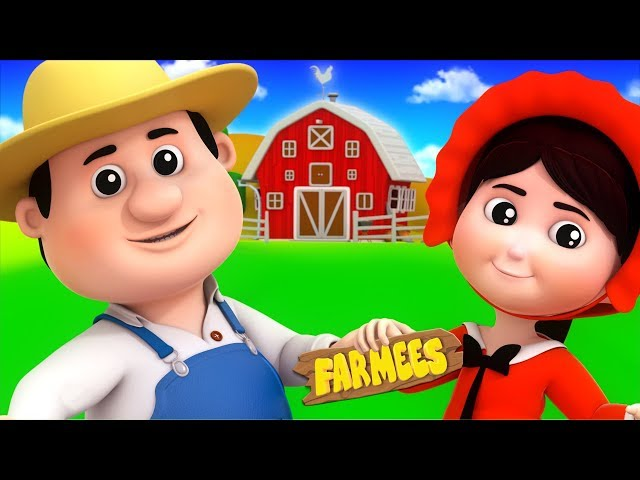 A House That Jack Built | Kindergarten Nursery Rhymes For Children | Cartoons by Farmees