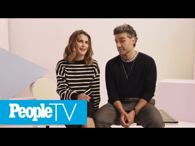 Kerri Russell, Oscar Isaac On Her Star Wars Character Zorri Bliss | PeopleTV | Entertainment Weekly