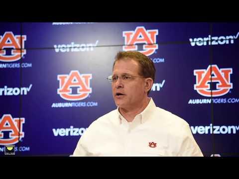Auburn head coach Gus Malzahn previews LSU