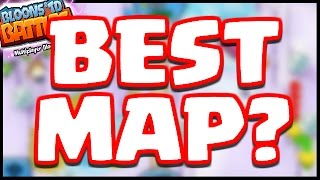 Bloons TD Battle - THIS IS THE BEST MAP IN THE GAME! - BTD Battles Gameplay