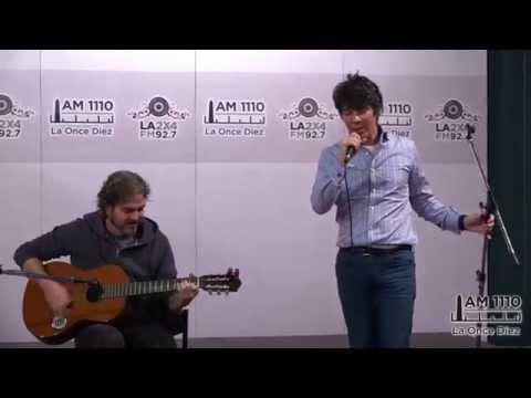 "Maxi Trusso ""Nothing at all"" -en vivo- La Once Diez con Catalina Dlugi"