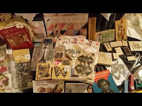 Treasure Hunting~Huge Scrapbook/Junk Journal Haul