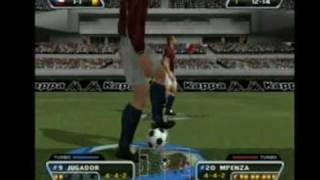 Red Card Soccer - Gameplay (Partido 1-1)