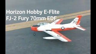 eflite fj 2 fury maiden flight