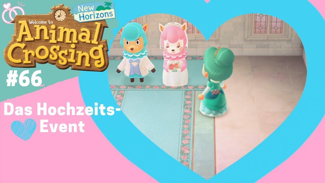 Das Hochzeits Event In Animal Crossing New Horizons Teil 66 Acnh Event Deutsch German Youtube