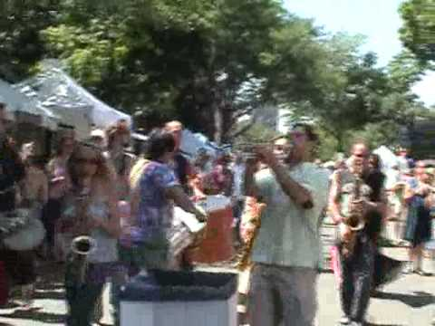 Buddhahood Park Ave Fest Samba March 2007 Ska Band