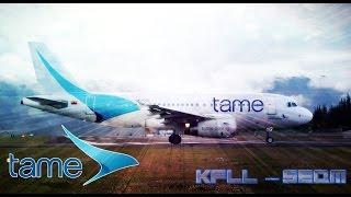 TAME Airlines [Ecuador]   Airbus A319   FLL to Quito {DEC. 2015}