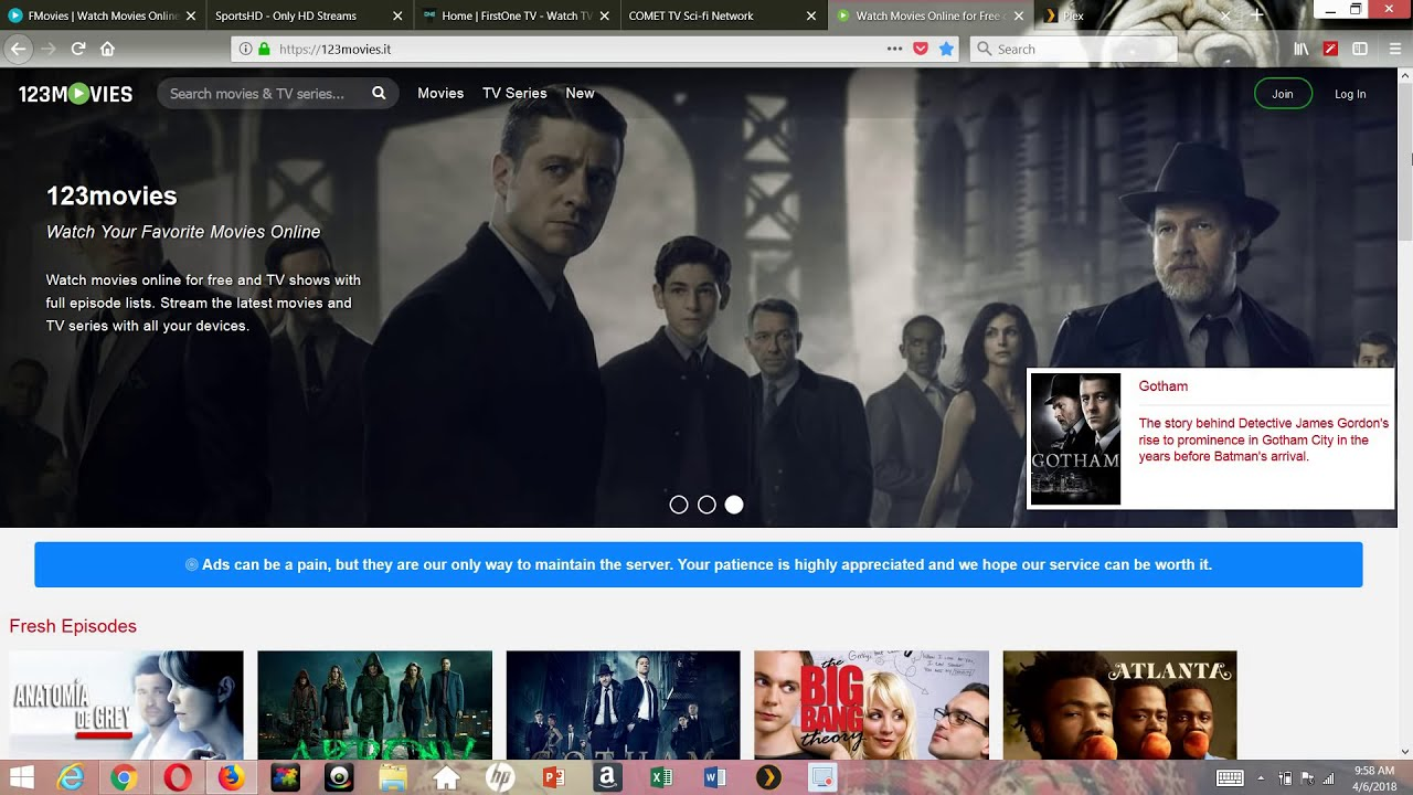 TOP WEBSITES TO WATCH FREE MOVIES & TV SHOWS FOR FREE ANY ...