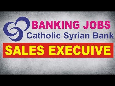 JOBS IN catholic syrian bank