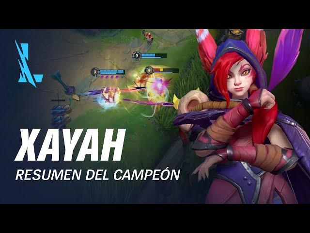 Resumen del campeón: Xayah | Experiencia de juego - League of Legends: Wild Rift