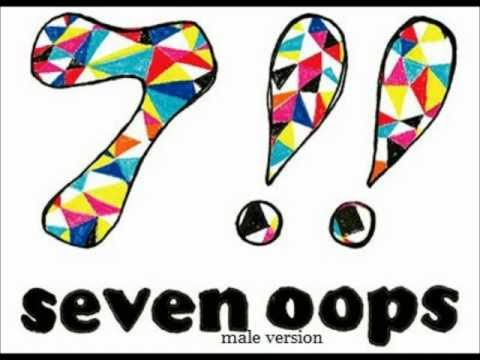 7!! Seven Oops: Lovers male vesion