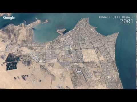 Google Timelapse: Kuwait City, Kuwait
