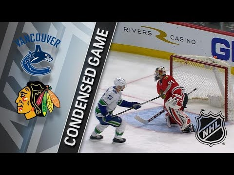 Vancouver Canucks vs Chicago Blackhawks – Mar. 22, 2018 | Game Highlights | NHL 2017/18. Обзор