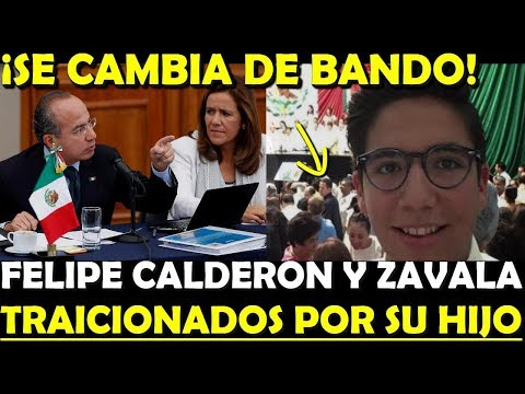 ¡INESPERADO! FELIPE CALDERON ES TRAICIONADO POR SU PROPIO HIJO - ESTADISTICA POLITICA