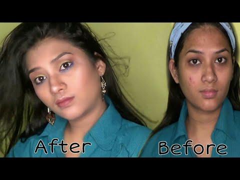 Pimple Hone Par Kaisa Makeup Kare 🤔// Easy & Simple Tarika /// AnjRi thumbnail