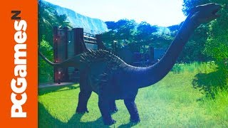 Jurassic World Evolution Ankylodocus Reveal Trailer: More Dragon than Dinosaur