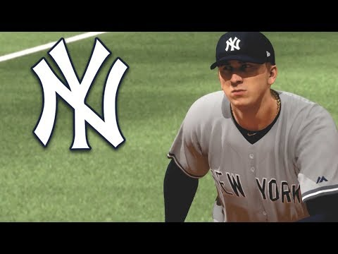 MY DEBUT FOR THE NEW YORK YANKEES! MLB The Show 18 Road To The Show